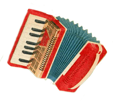 Picture of an accordian