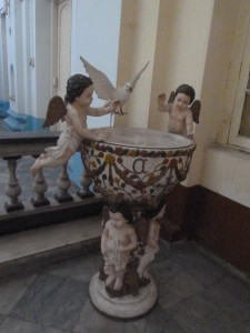 FATHER'S BAPTISMAL  FONT